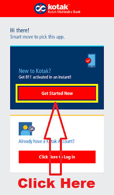 how to open kotak 811 account online