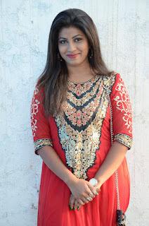 Geethanjali Stills in Red Dress at Nenu Naa Boyfriends Movie Opening  0044