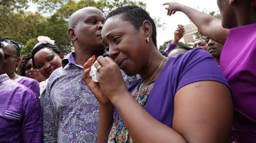 Murang'a Women Rep Sabina Chege cries for Handshake welcoming photos