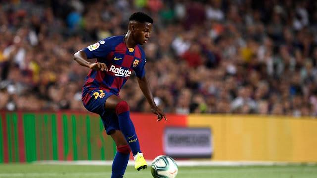Ansu Fati Dianggap Lebih Bagus dari Lionel Messi Kala Usia 16 Tahun