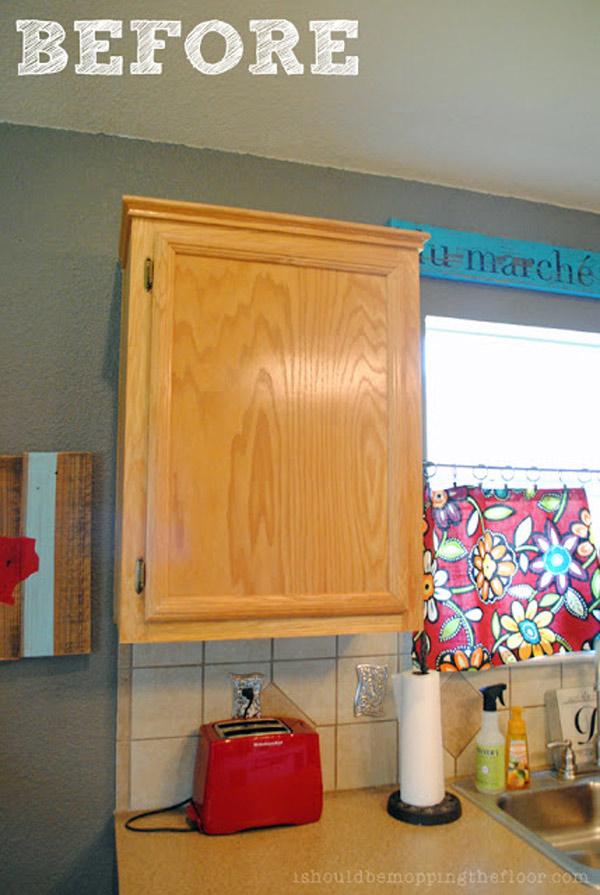 Standard Builder Grade Cabinets