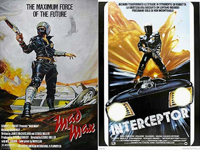 La locandina del film Mad Max / Interceptor