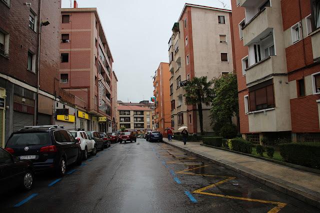 calle Blas de Otero en Cruces (Barakaldo)