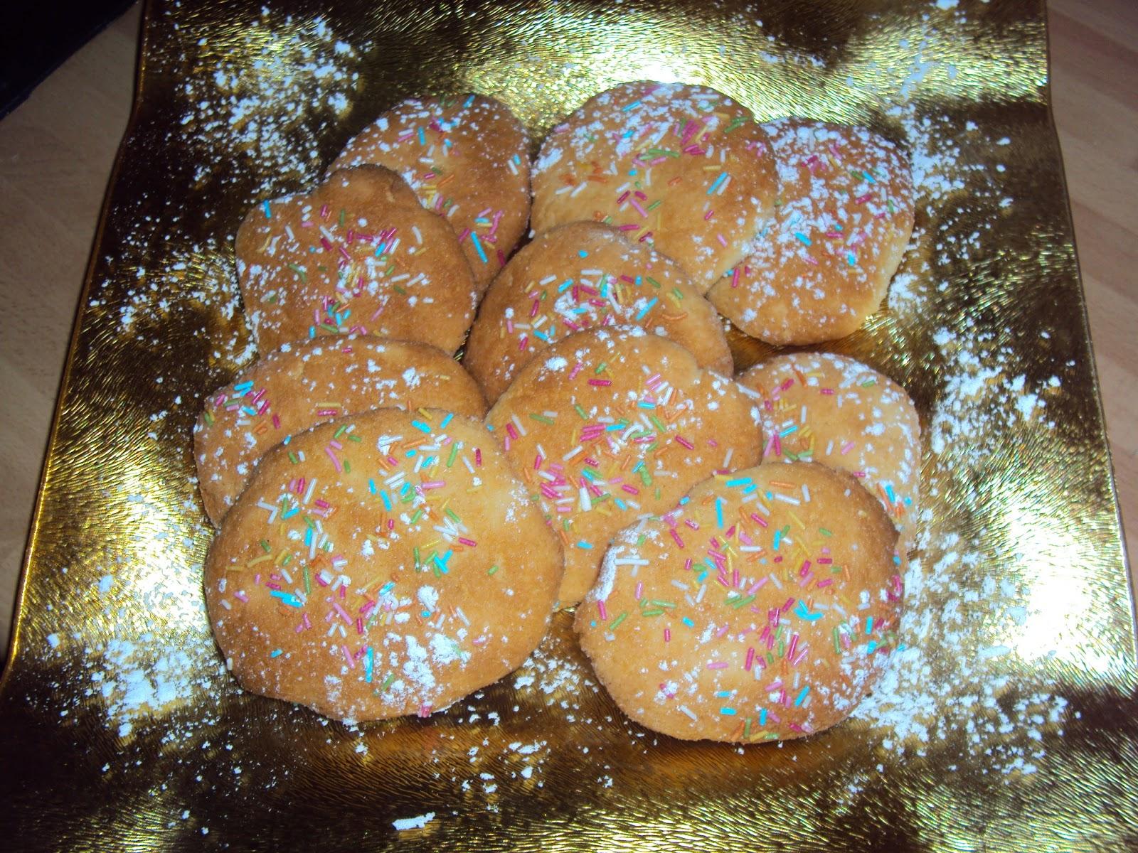 Immagine dei dolci biscottoni alla farina di riso dal blog Le ricette di Chycca