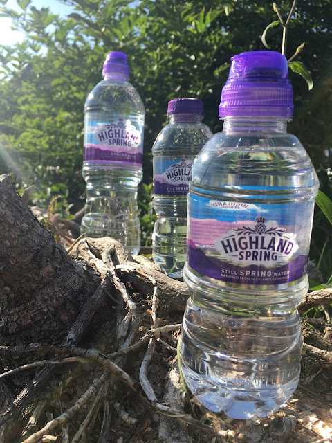 Highland Spring bottled spring water