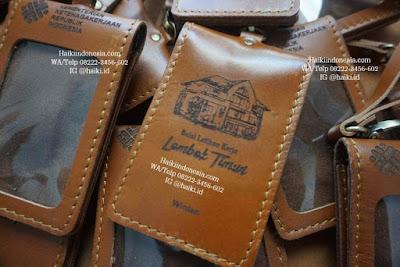 Jual Souvenir Tempat Id Card Kulit Pekanbaru Kemnaker