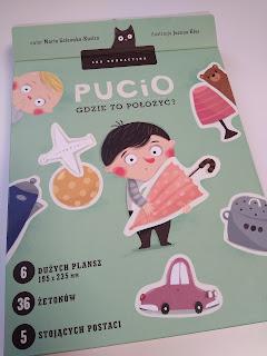 Gra edukacyjna Pucio - gdzie to położyć?