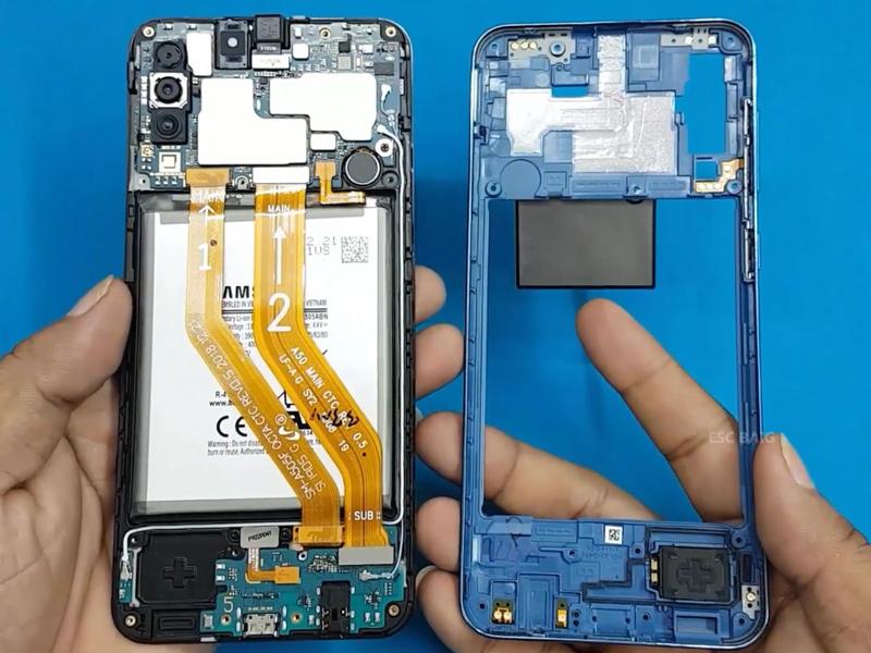Harga Spare Part dan Akesoris Original Samsung Galaxy A50 (Layar,  Backcover, Baterai, Kabel/Charger, PBA) - Elppas Story!