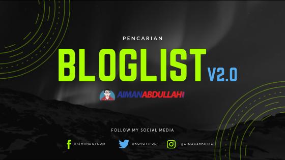pencarian bloglist aimanabdullah.com