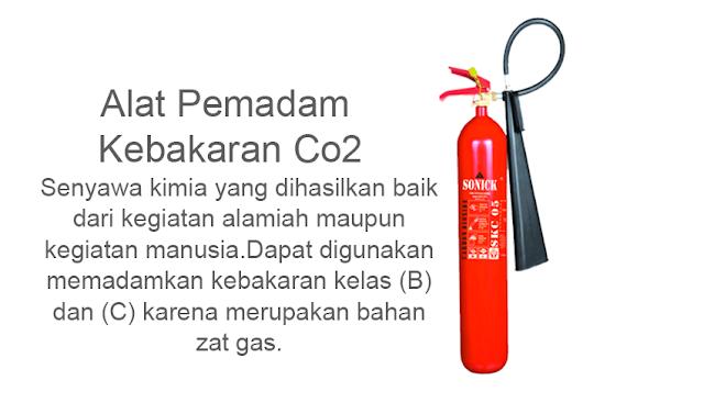 Tabung Pemadam Kebakaran Karbon Dioksida