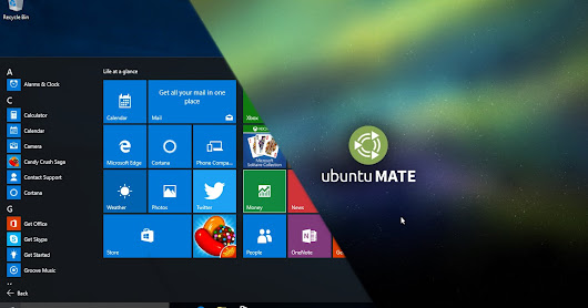 Dual Boot Windows 10 dan Ubuntu Mate di Lenovo Ideapad 300S