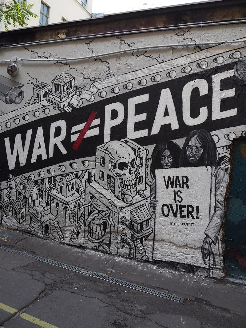 Street art at Cafe Cinema Berlin