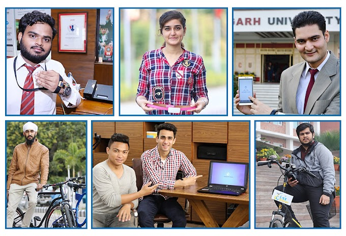 Chandigarh University Working in the Direction to Realize PM Modi's Dream of 'Stand India - Start-up India'