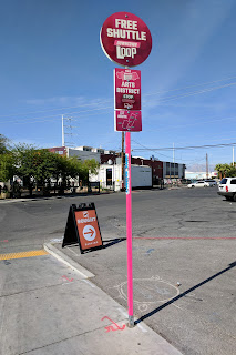 sign for Sought Church in the Arts District of Las Vegas