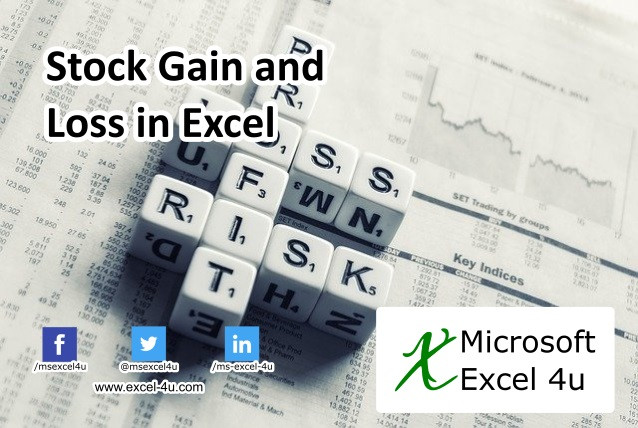 Stock Gain and Loss in Excel