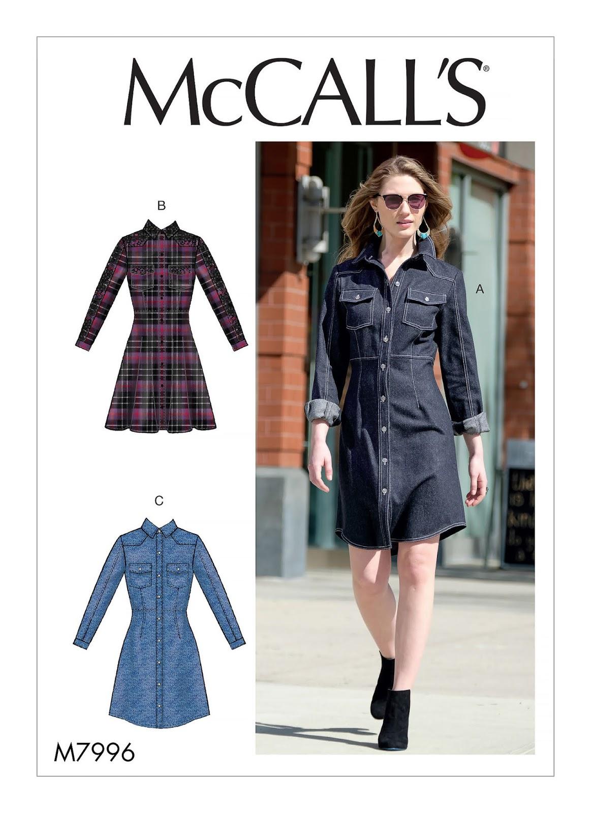 McCall Pattern #M7996