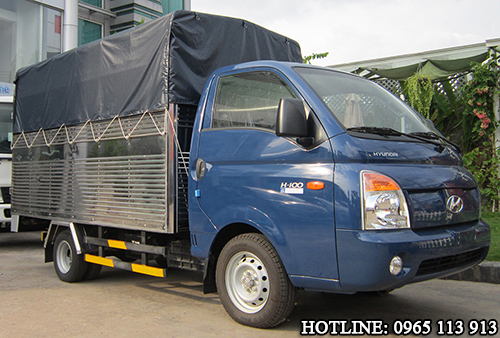 Hyundai H100 Xe tải 1 tấn thùng bạt