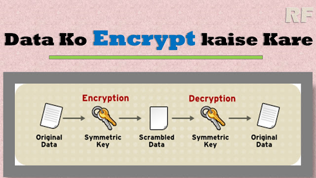How to encrypt your data