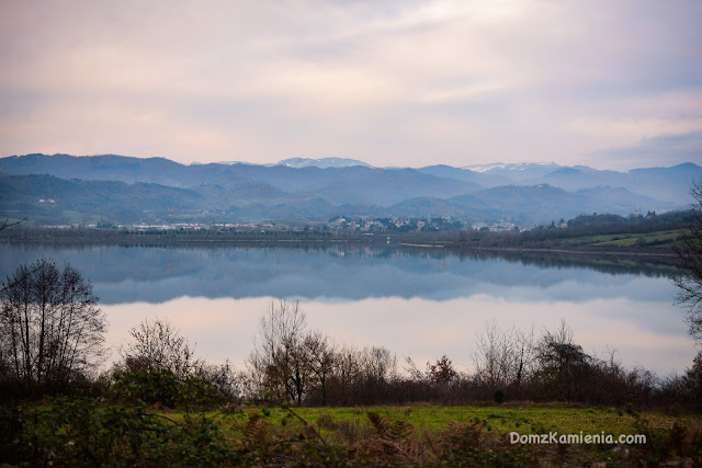 Dom z Kamienia blog, Lago di Bilancino