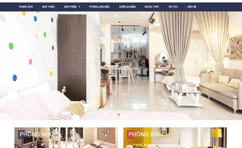 Template blogspot siêu thị nội thất