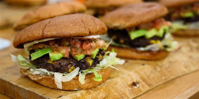 Sunny's Black Bean Burgers Recipe