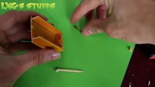 tutorial Cara Membuat Tempat Baterai dari Stik Es Krim