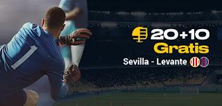 bwin promo liga Sevilla vs Levante 20-10-2019