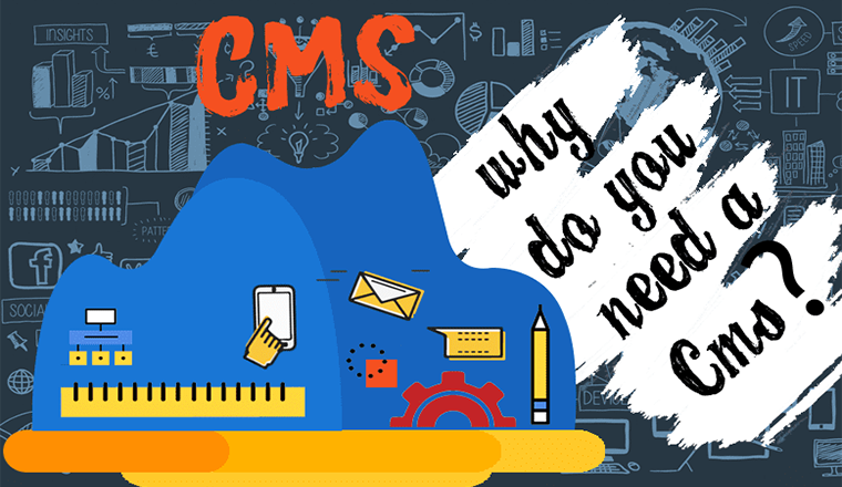 Why do you need a CMS? #infographic