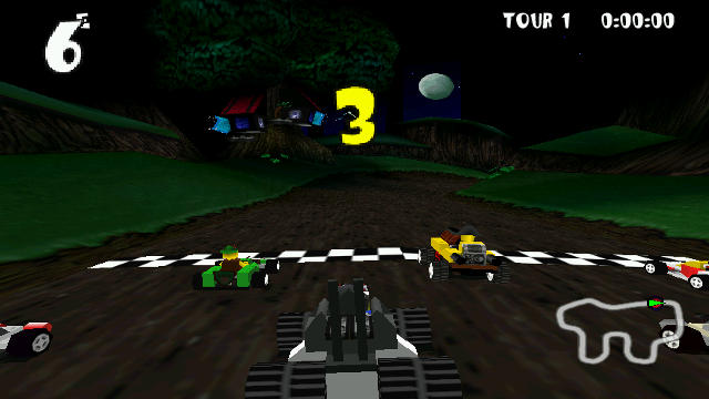 Lego Racers - Image du Jeu