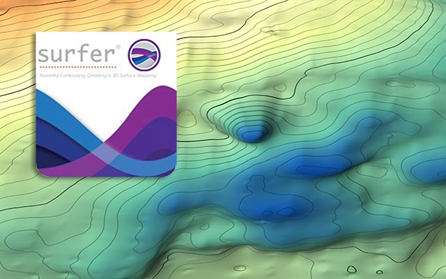 Golden Software Surfer 20.1.195 Create 3D models and mapping data