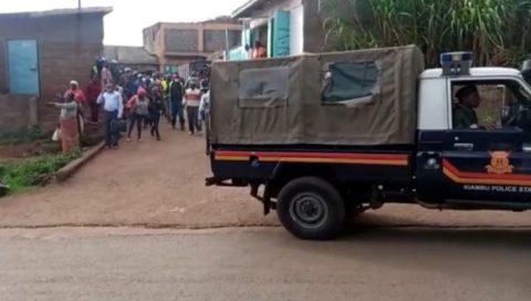 A Kieni man in Nyeri police
