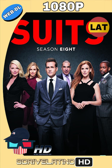 Suits [Temporada 01 al 08] NF WEB-DL 1080p Latino-Ingles MKV