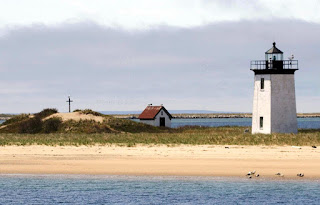 Long Point Light and Outer Battery