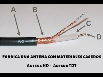 Como fabricar una antena casera para televisor