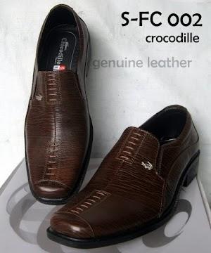 Sepatu Pantofel Kulit Sapi Asli A8