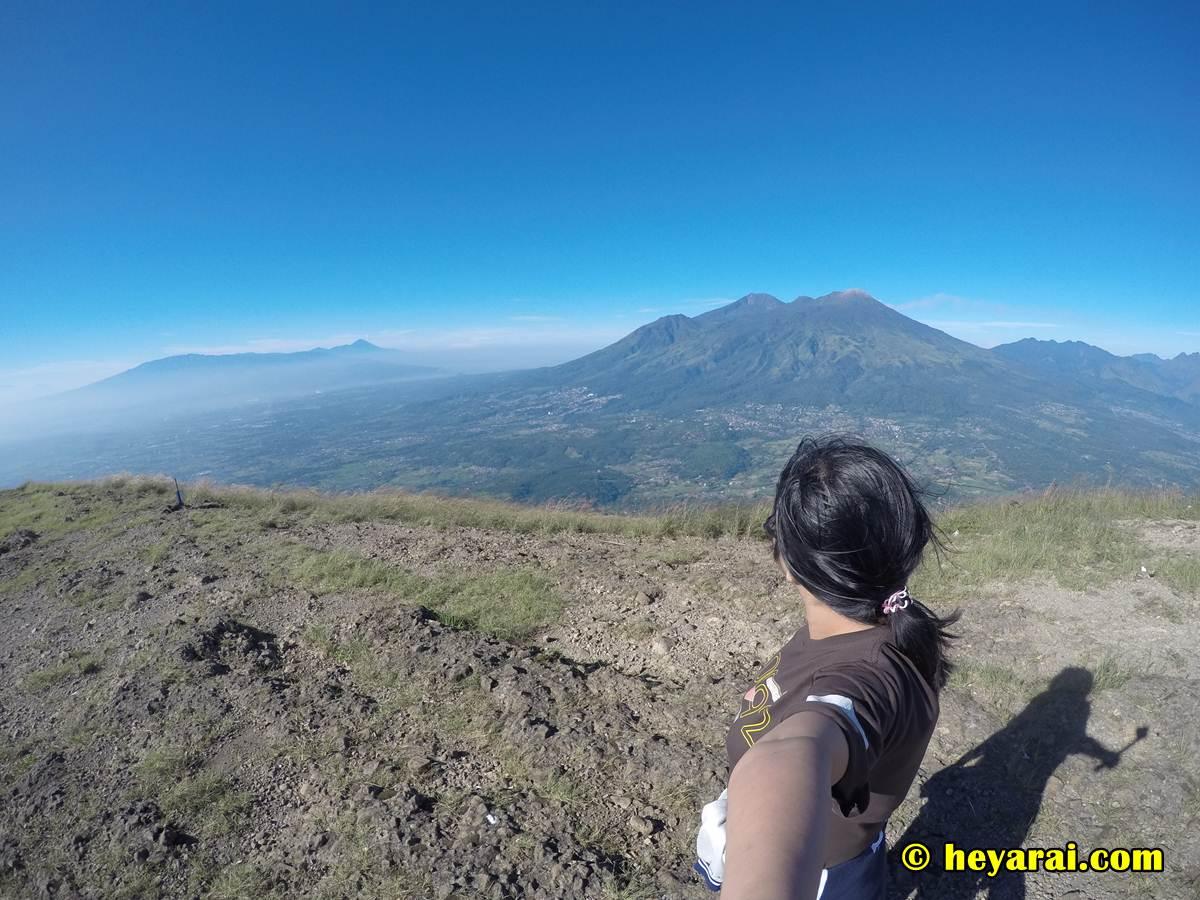 Puncak Pawitra gunung Penanggungan