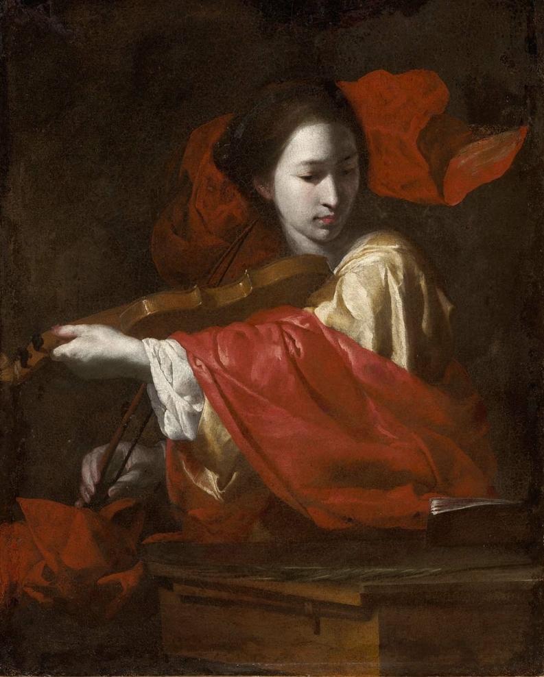 ernardo Cavallino   Saint Cecilia