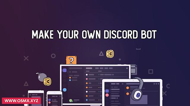 برمجة وتطوير بوت ديسكورد خاص بك بالاومر التي تريدها