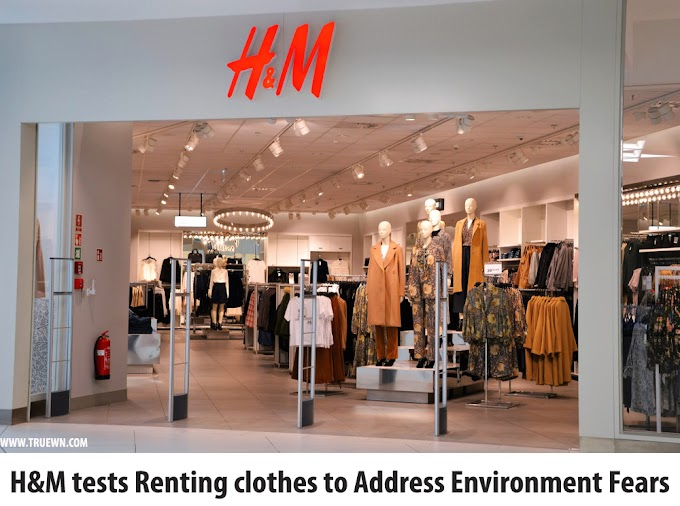 H&M tests renting clothes to address environment fears