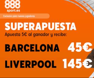 888sport superapuesta champions Barcelona vs Liverpool 1 mayo 2019