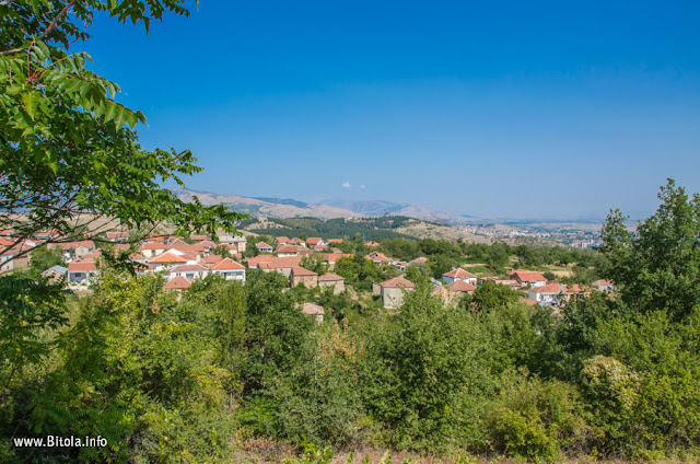 Bukovo village, Bitola, Macedonia - panorama