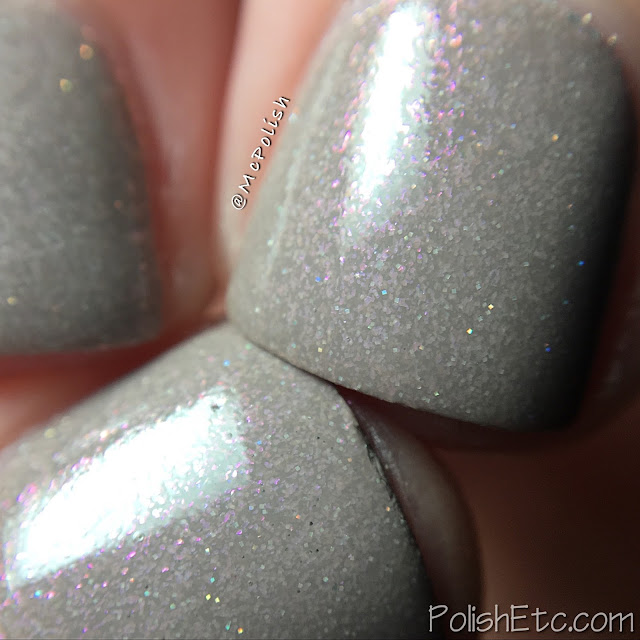 KBShimmer exclusive for Color4Nails - What the Shell - McPolish