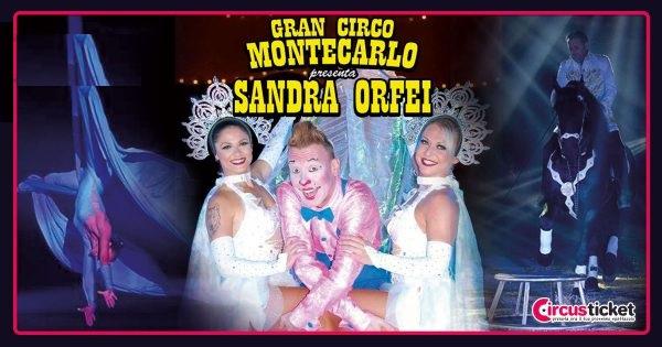 """Gran Circo Montecarlo """"Sandra Orfei"""". Pubblicità ed esterni da Licata (AG)"""