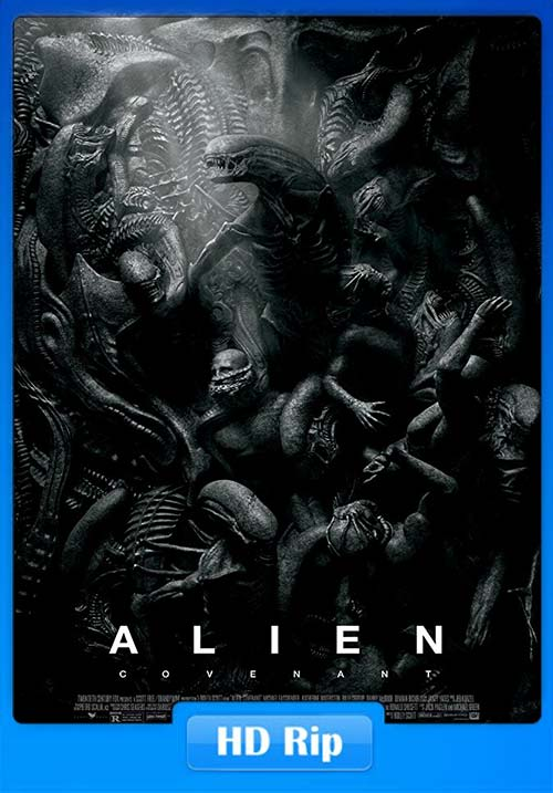 Alien Covenant 2017 720p BDRip Hindi Tamil Telugu Eng | 480p 300MB | 100MB HEVC