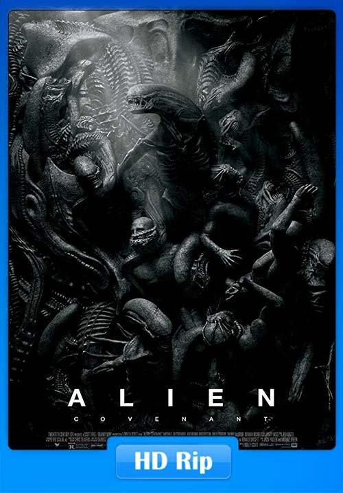 Alien Covenant 2017 720p BDRip Hindi Tamil Telugu Eng | 480p 300MB | 100MB HEVC Poster