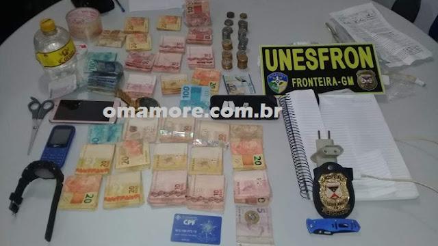 """Polícia de Guajará-Mirim desarticula mais uma """"boca de fumo"""""""
