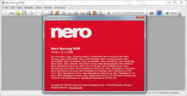 Screenshot Nero Lite 2020 v22.0.1008 Full Version