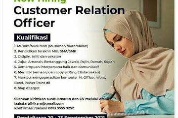 Loker Bandung CSR Darul Hikam