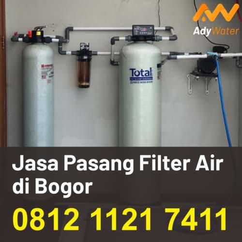 jasa pasang filter air di bogor, distributor filter air bogor, alat media filter air bogor