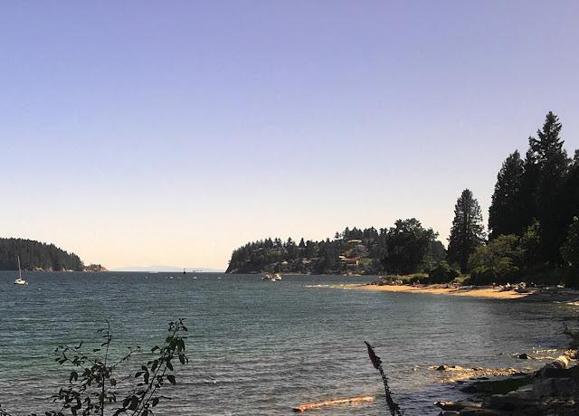 Gibsons BC Swimming Beach